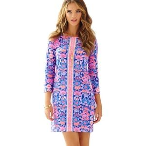 Lilly Pulitzer Boatneck Marlowe T-Shirt Dress